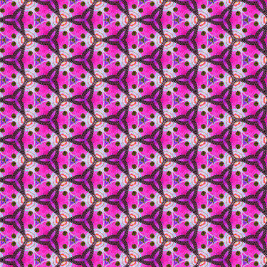 Muster Pattern Ornamental Design Pink