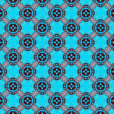 Pattern Muster Blue ornamental