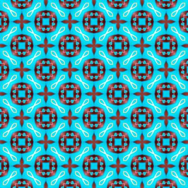 Muster Pattern türkis Zart