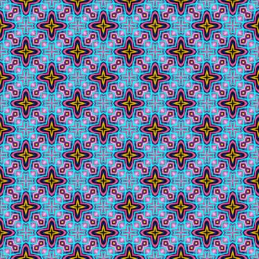 Geometrisches Design Pattern Artwork