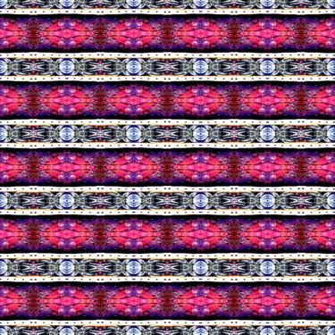 Geometrisches Pattern Artwork Orientalisch