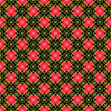 Muster Pattern Ornament Geometrisch Rot