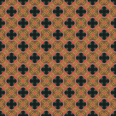 Muster Pattern Ornament Rot Braun