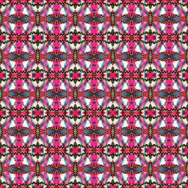 Pattern Muster Pink Ornamental